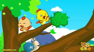 贝乐虎儿歌018蜗牛与黄鹂鸟