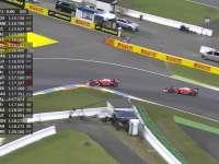 心疼!F1德国站FP3:维特尔最后时刻颠断前翼