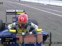 F1德国站正赛:纳斯尔遗憾退赛