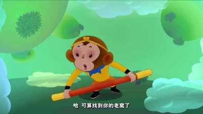 西游记的故事01黑熊怪出没第1集