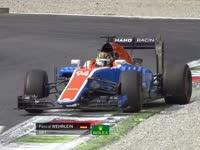 F1意大利站FP3:维尔莱茵打滑甩尾