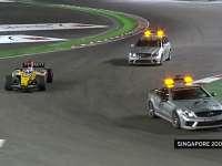 "F1新加坡站经典:08年雷诺""撞车门""助阿隆索夺冠"