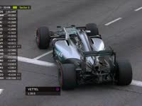 F1新加坡站FP3:汉密尔顿失误锁死腾云驾雾赛道停车