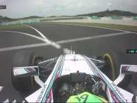 F1马来西亚站FP3 马萨:我找不到进站的路了!