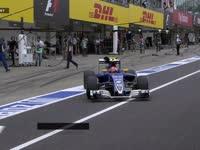 粗心!F1日本站FP2:纳斯尔乱丢手套!