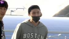 EXO的D.O和張藝興現身仁川國際機場 張藝興暈倒後首次亮相表情顯疲憊
