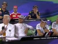 F1巴西站新闻发布会 维斯塔潘为F1规则出谋划策