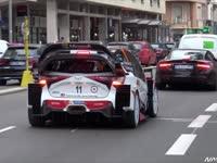实拍:WRC蒙特卡洛站丰田引擎声响彻阿尔卑斯山