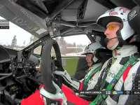 WRC瑞典站SS11:拉特瓦拉冲线后一脸不爽
