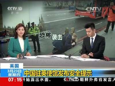 [视频]英国:中国驻英使馆发布安全提示