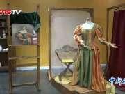 米开朗基罗雕塑《大卫》《酒神》等鸟巢展出 观赏效果优于亲至意大利