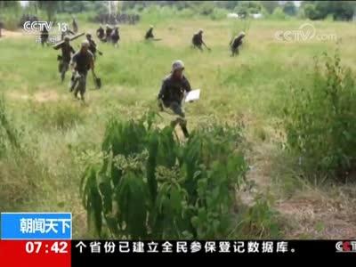 [视频]陆军:合成营多火力实弹射击训练