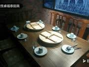福泰厨具,铁锅炖转桌,铁锅炖桌子,铁锅炖一体桌,铁锅炖灶台4