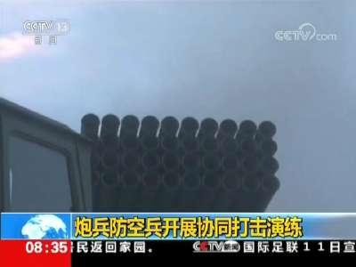 [视频]炮兵防空兵开展协同打击演练