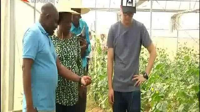乌干达驻华大使吉永嘉在益考察现代农业