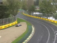 F1澳大利亚站一练 博塔斯和哈尔延托接连跑进沙石区