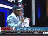 NFL选秀大会第4顺位 伊泽基尔-埃利奥特 (牛仔)