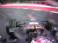 呲溜呲溜的! F1奥地利站FP2 维斯塔潘连续打滑