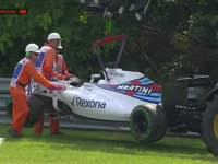 F1匈牙利站排位赛Q1:马修赛车当吊椅