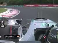 F1匈牙利站排位赛Q3:罗斯伯格在黄旗下减速了么?