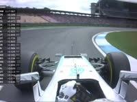 F1德国站FP2:汉密尔顿收到赛事干事警告
