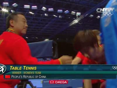 [视频]乒乓球女团决赛 中国金花无压力取得冠军