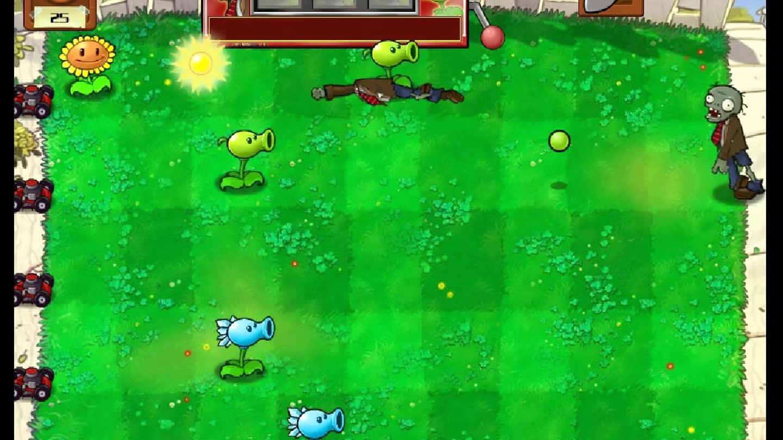 【讲武堂】植物大战僵尸09 和僵尸先生玩老虎机 运气爆棚
