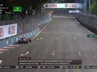 F1新加坡站正赛:罗斯伯格被车队要求照顾刹车温度