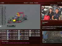 F1日本站FP1 全场回顾(维修站)