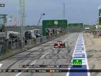 F1美国站正赛:维特尔又一次进站换胎