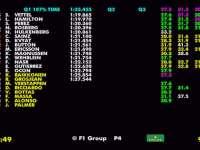 F1墨西哥站排位赛全场回放(数据)