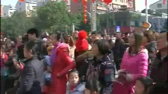 2017新春庙会暨益阳首届社区文化欢乐节举行