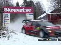 WRC瑞典站SS11全场回顾(中文解说)