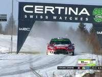 WRC瑞典站SS18:拉斐尔完赛落后头车超20秒