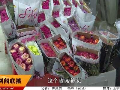 红玫瑰仍然是节日首选 消费者购买已趋于理性