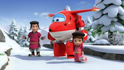 超级飞侠第三季02不丹巨雪人