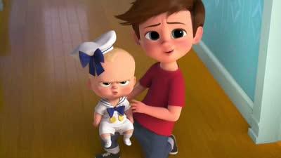 《娃娃老板》新预告片恶搞《美女与野兽》 烛台与时钟成宝贝玩具