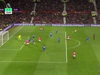 (粤语)英超-伊布点球救主 平局令贾吉尔卡的进球黯然失色 曼联1-1埃弗顿