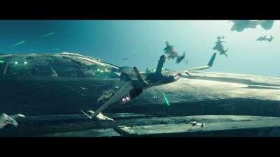 《独立日:卷土重来》再曝预告 外星人摧毁地球场面叹为观止