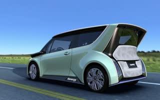 汉能全太阳能动力汽车发布影片