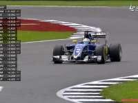 F1英国站FP2 埃里克森:为啥左前胎锁死?