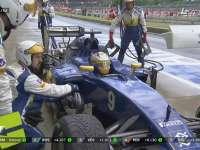 退赛!F1英国站正赛:埃里克森赛车故障