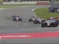 F1德国站正赛:米克观战 马诺内斗掉碎片