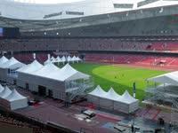 2015北京国际马术大师赛 蓬房搭建延时摄影