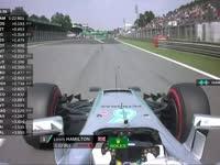 F1意大利站FP2:汉密尔顿反馈轮胎状况