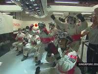 F1新加坡站经典 2010年韦伯撞飞汉密尔顿冠军梦