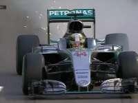 F1新加坡站FP3:汉密尔顿重刹冲入缓冲区回放