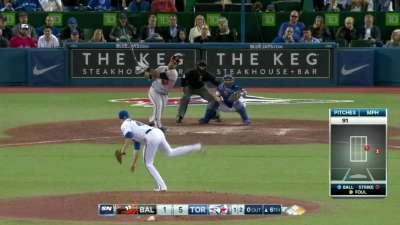 唐纳尔森关键全垒打 蓝鸟赢下金莺季后赛更近一步