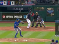 MLB季后赛 多伦多蓝鸟vs克里夫兰印第安人G1 全场录播(英文)