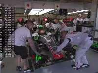 F1墨西哥站排位赛Q1停表:哈斯全军覆没